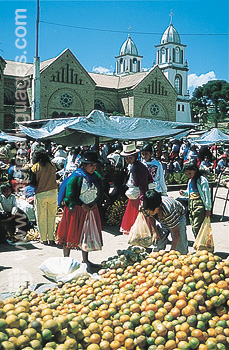Indian market - Cuenca