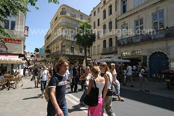 Montpellier street scene