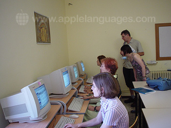 School Internet room