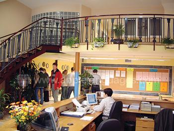 School reception