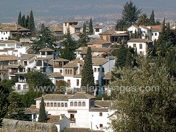 The old town, Granada