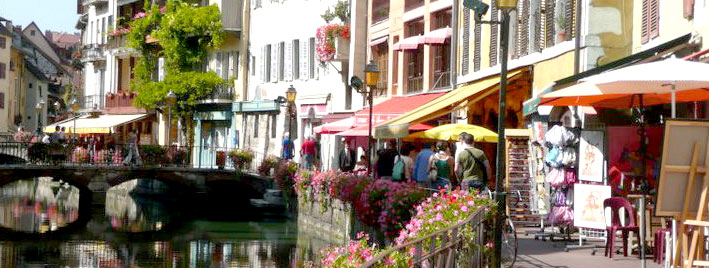 Shops in Annecy