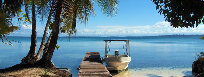View out to see in Bocas del Toro