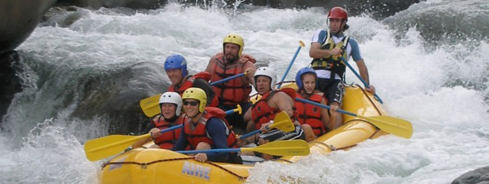 White-water rafting in Boquete
