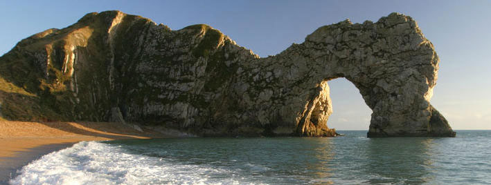 Durdle door near Bournemouth