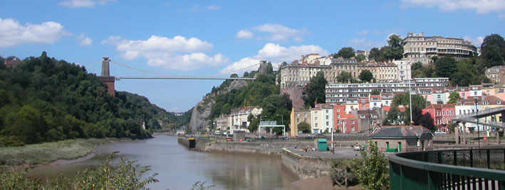 The Clifton Suspension Bridge, Bristol