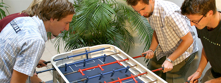 Table football in Buenos Aires