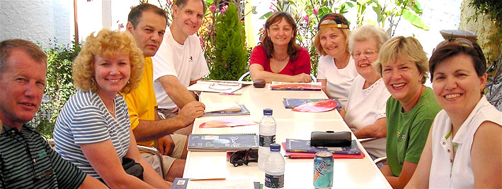 Mature students in Nerja