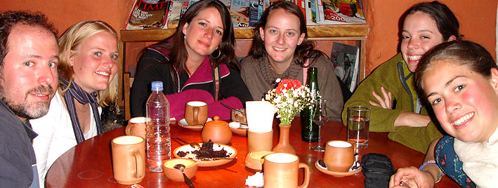 Coffee break in Cusco