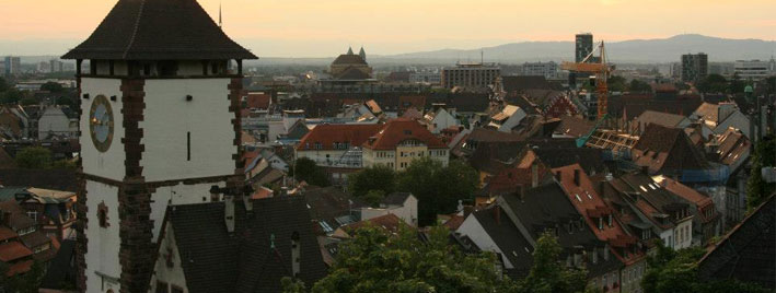 View over Freiburg