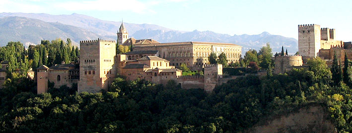 View over the Alhambra, Granada