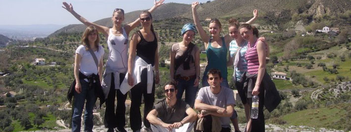 Hiking and practising Spanish in Granada