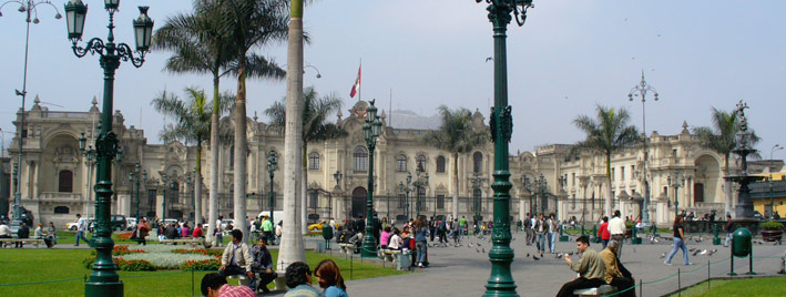 The Historic Centre of Lima, Peru