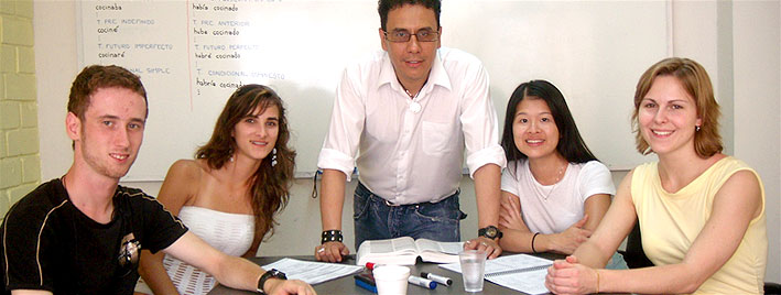 Spanish class in Lima