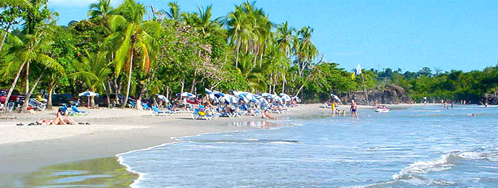 Beach in Manuel Antonio, Costa Rica