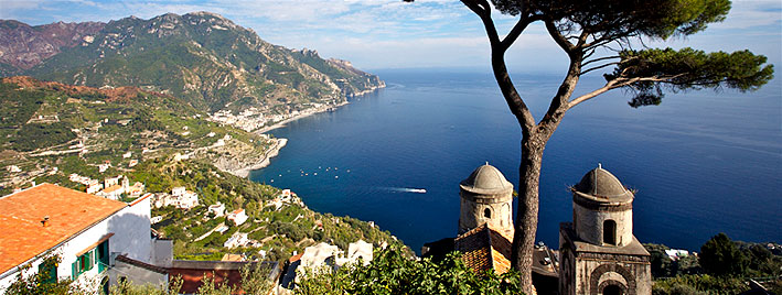 Ravello, Amalfi coast near Naples