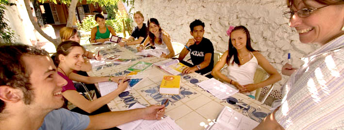 Learning Spanish in Nerja