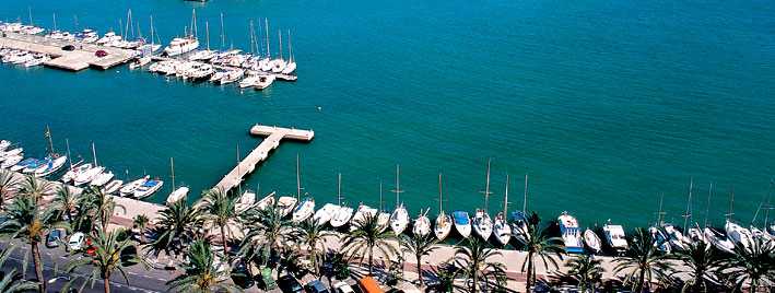 Boats and sea in Palma