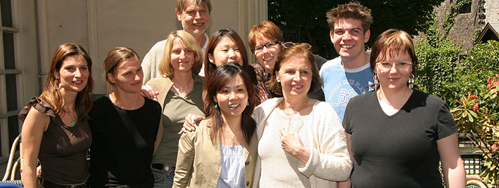 French group in Paris