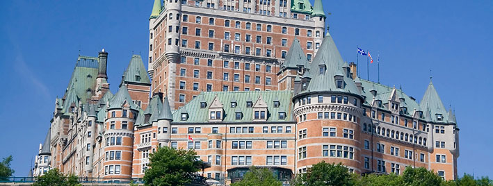 Château Frontenac in Quebec