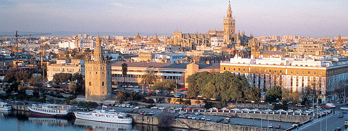 View over Seville, Spain
