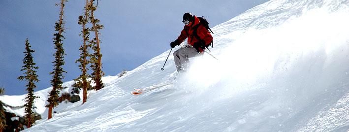 Skiing in Kitzbuhel
