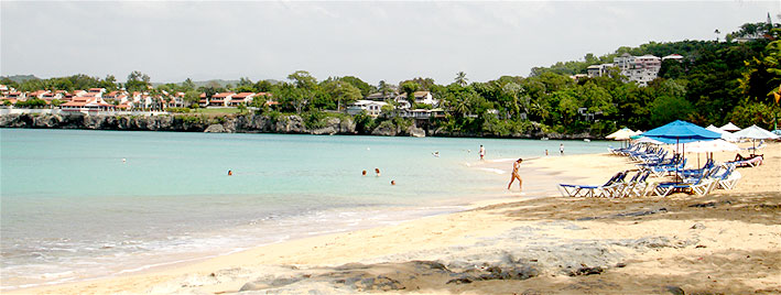 Beach in Sosua, Dominican Republic