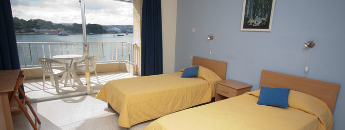 Accommodation in St. Julian's Bay, Malta