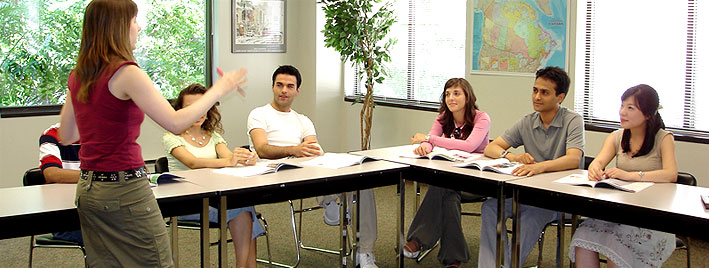English course in Toronto, Canada