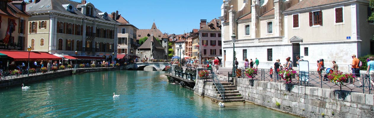 French in Annecy city centre