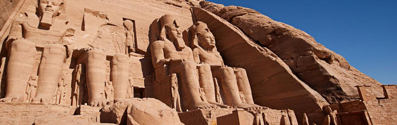 The Arabic Abu Simbel Temples in Egypt