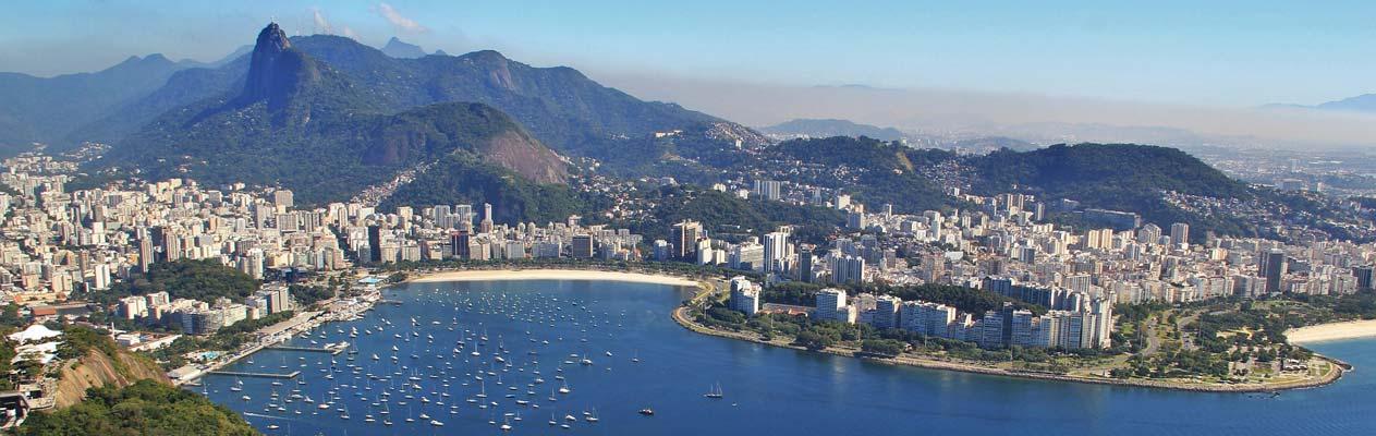 Brazil - view of the sugarloaf mountain, Rio de Janeiro