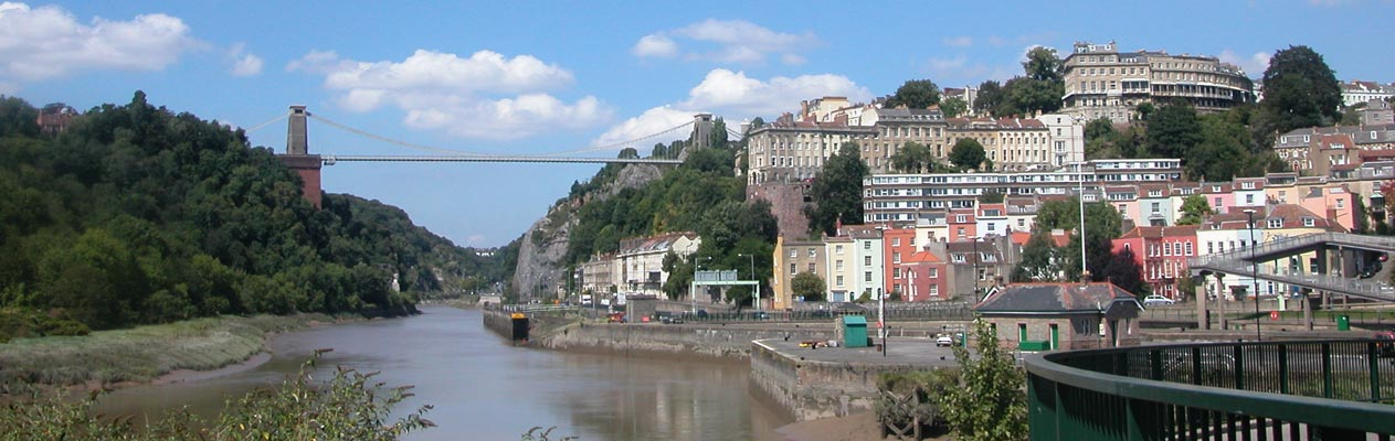 Bristol and the Clifton Suspension Bridge