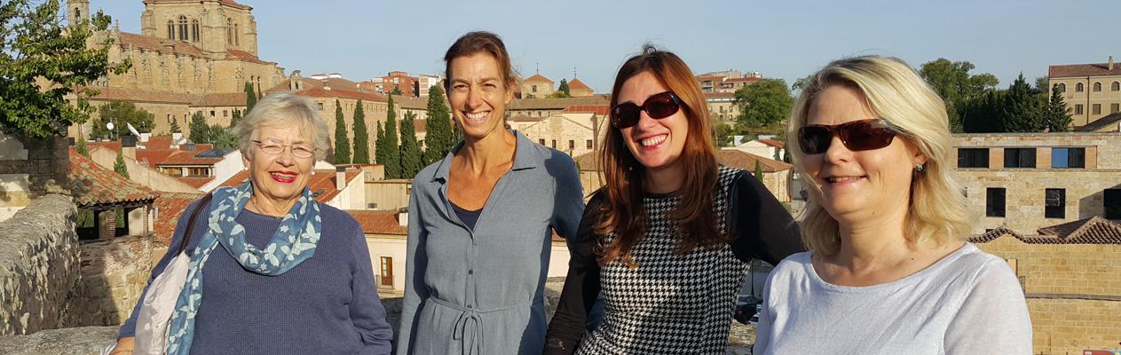 Spanish Club 50+ courses, Salamanca
