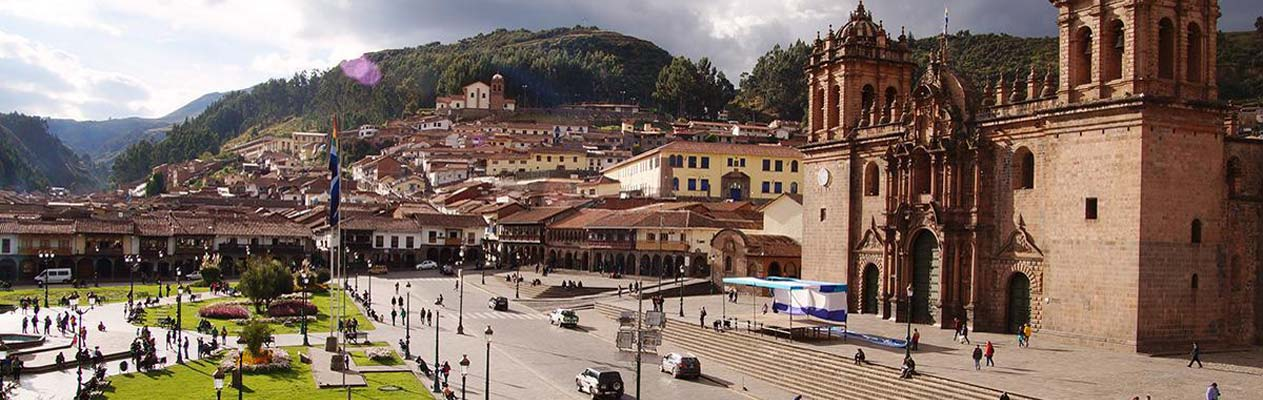 Cusco Cathedral and main square, Cusco, Peru