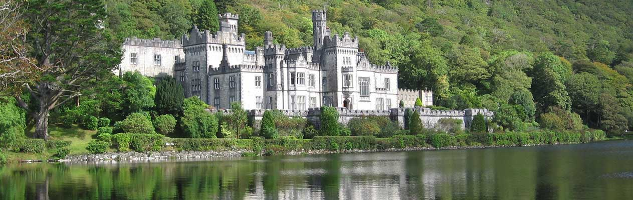 Kylemore Abbey in County Galway
