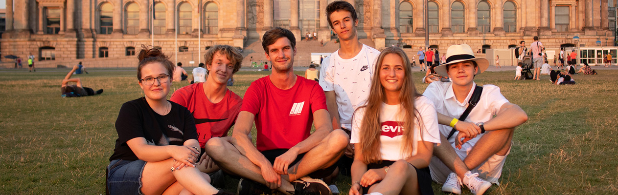 German summer course for Young Students in Berlin