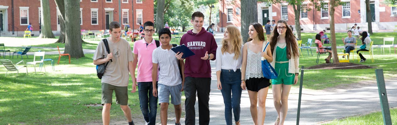 English language students in Boston, USA