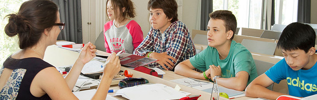 French course for Young Students, Leysin