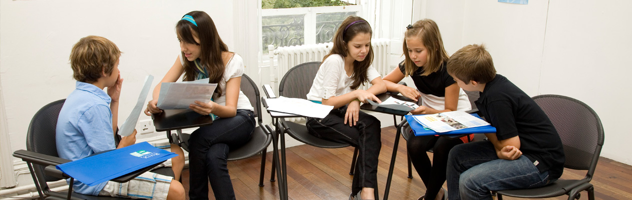 English language course for teenagers in London