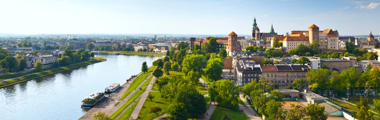 City of Krakow, Poland