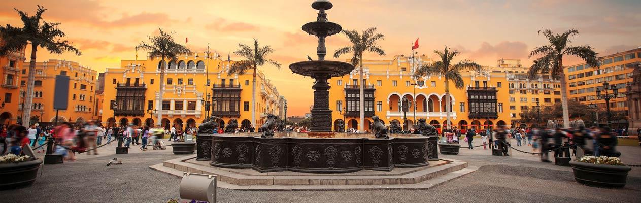 Lima city centre, capital of Peru