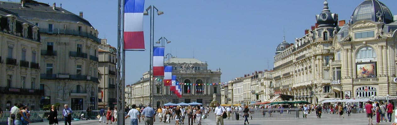 Place de la Comédie, Montpellier, France