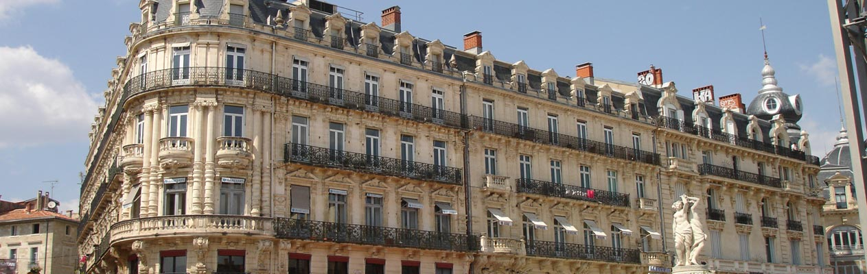 Building in Montpellier, France