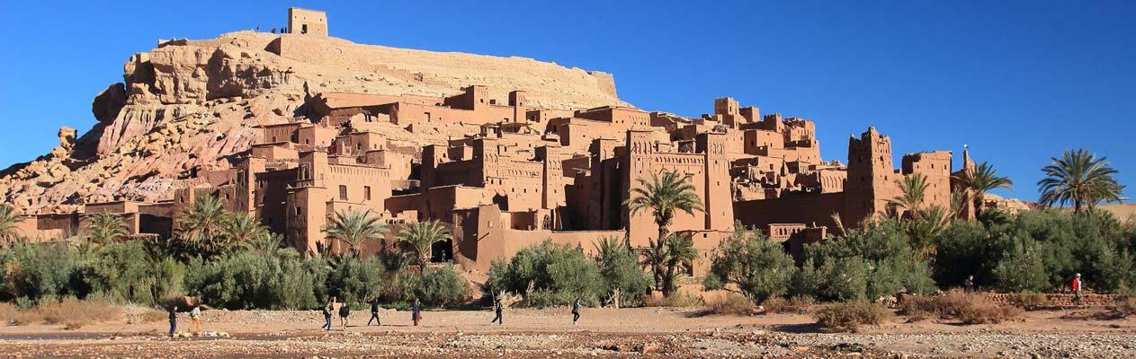 aït benhaddou, UNESCO monestry in Morocco