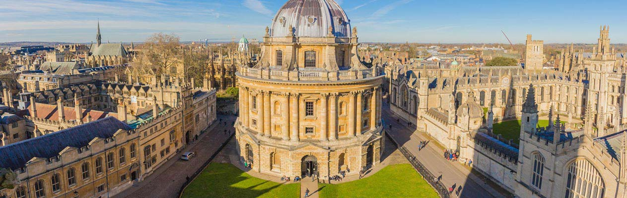 Radcliffe Camera and university buildings, Oxford