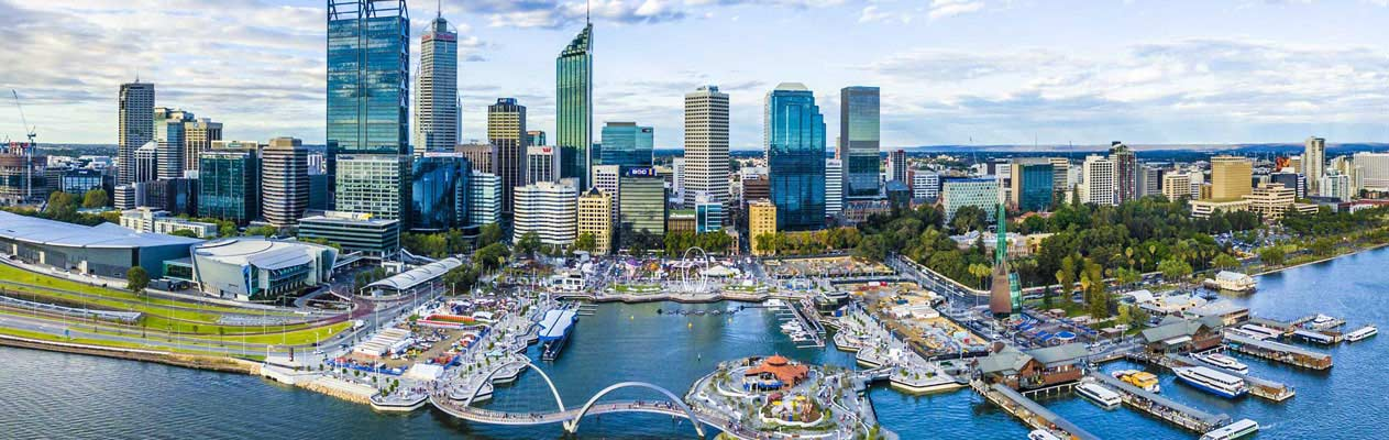 Perth city centre, Australia