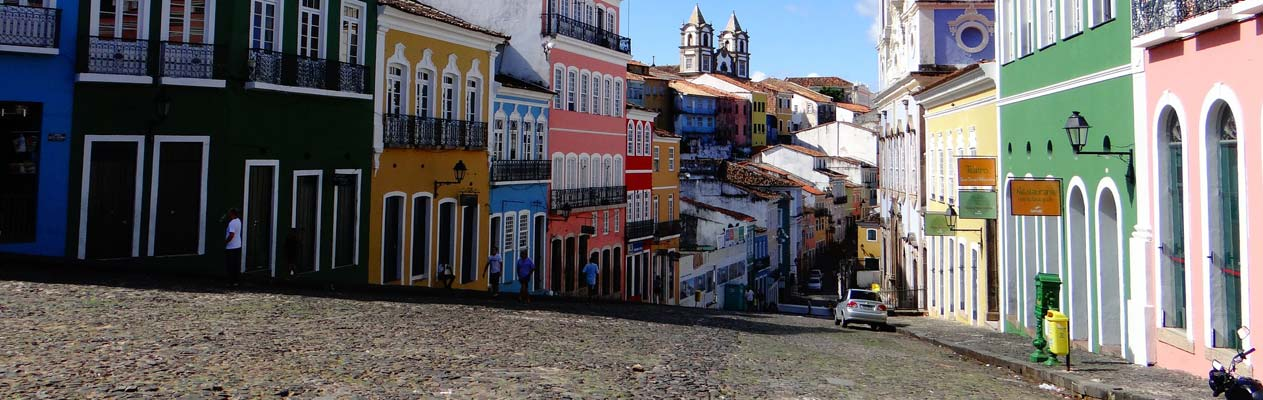 Salvador, the capital of the State of Bahia, Brazil