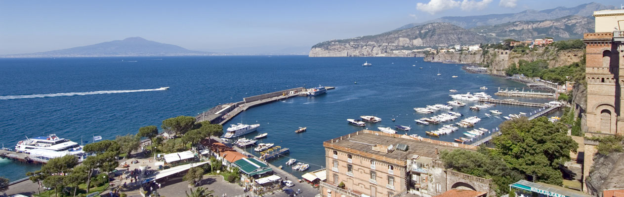 Sorrento, bay of Naples, Italy